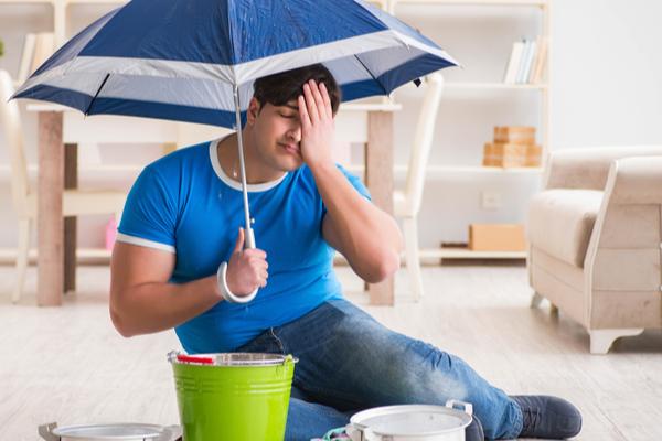 tenants insurance for leak in neighbours apartment